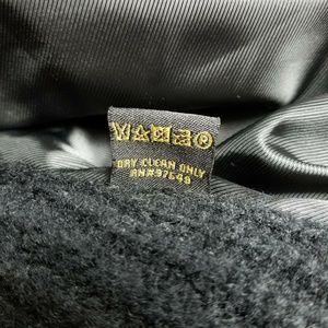 Metric Knits Jackets & Coats - Metric Knits Black Faux Fur Knit Sweater Vest